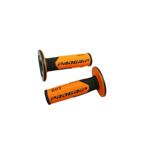POIGNEE REVETEMENT PROGRIP 801 ORANGE / NOIR