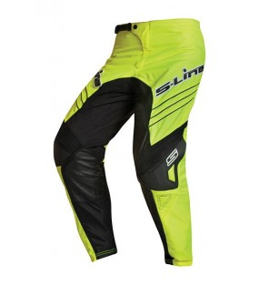 PANTALON CROSS SLINE JAUNE...