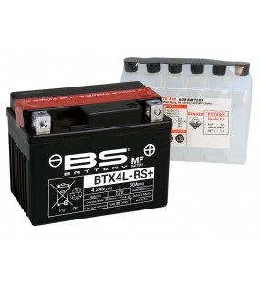 BATTERIE BS BTX4L-BS + PACK ACIDE