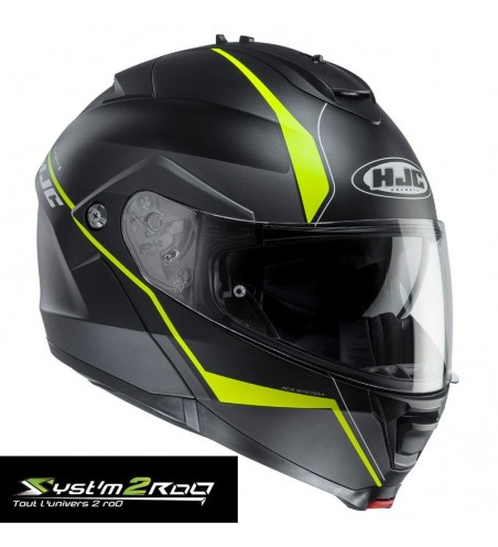 CASQUE MODULABLE HJC IS MAX II DECO TAILLES M