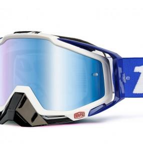 LUNETTE RACECRAFT GOGGLE 100% - COBALT BLUE