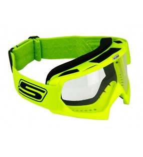 MASQUE CROSS S-LINE ECO JAUNE FLUO