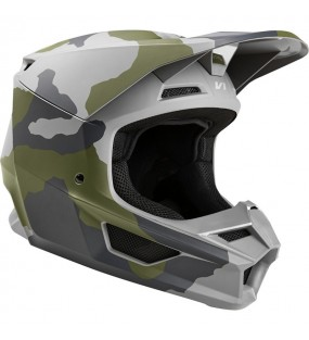 CASQUE CROSS FOX V1 PRZM CAMO SPECIAL EDITION