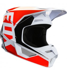 CASQUE CROSS FOX V1 PRIX HELMET ORANGE FLUO