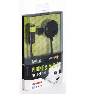 KIT MAINS LIBRES TWIINS CASQUE HANDSFREE