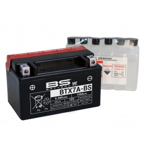 BATTERIE BS BTX7A-BS ( YTX7-ABS ) SYM ORBIT CROX