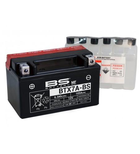 BATTERIE BS BTX7A-BS ( YTX7-ABS ) SYM ORBIT CROX