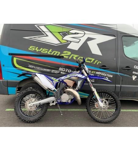 MOTO ENDURO DEMO SHERCO SE-R 125 RACING MODELE 2019 5H