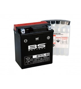 BATTERIE BS BTX7L-BS AVEC PACK ACIDE
