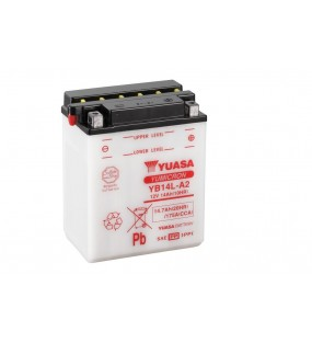 Batterie YUASA YB14L-A2 conventionnelle