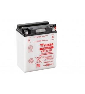 Batterie YUASA YB14L-B2 conventionnelle