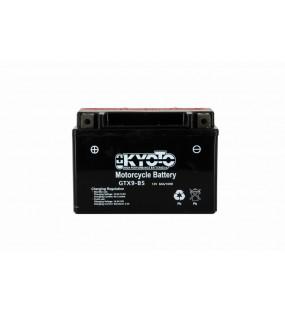 BATTERIE KYOTO YTX9-BS AGM LIVREE AVEC PACK ACIDE