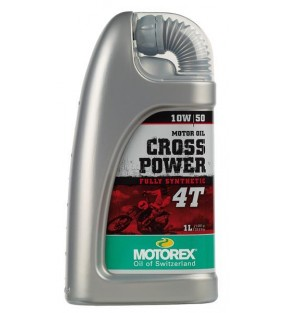 HUILE MOTOREX CROSS POWER 4T 10W50 100% synthétique 1L