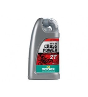 HUILE MOTOREX CROSS POWER 2T 100% synthétique 1L