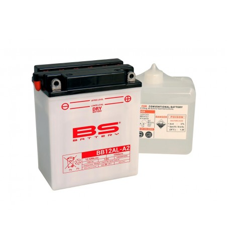 BATTERIE BS BATTERY BB12AL-A2  CONVENTIO