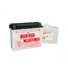 BATTERIE BS BB16AL-A2 AVEC PACK ACIDE
