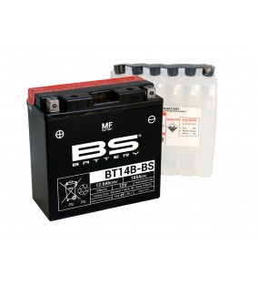 BATTERIE BS BT14B-BS AVEC PACK ACIDE