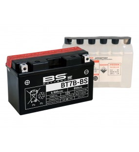 BATTERIE BS BT7B-BS AVEC ACIDE