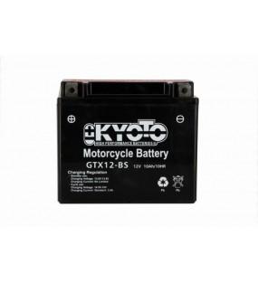 BATTERIE KYOTO GTX12BS LIVREE AVEC PACK ACIDE