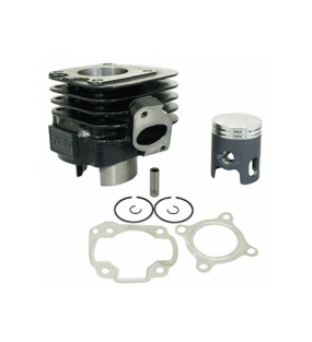 CYLINDRE SCOOT TOP PERF FONTE (BLACK TROPHY) POUR MBK 50 OVETTO 2T, MACH G, YAMAHA 50 NEOS 2T