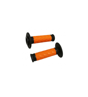 POIGNEE PROGRIP OFF ROAD 783 DOUBLE DENSITE BASE NOIR / ORANGE