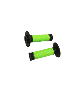 POIGNEE PROGRIP OFF ROAD 783 DOUBLE DENSITE BASE NOIR/VERT 115mm