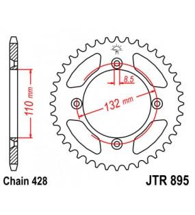Couronne JT SPROCKETS 46 dents acier standard pas 428 type 895
