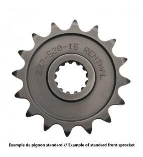 Pignon RENTHAL 13 dents acier standard pas 520 type 289