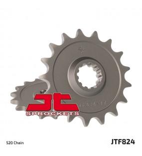 Pignon JT SPROCKETS 12 dents acier standard pas 520 type 824 Husqvarna