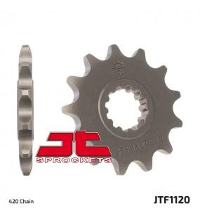 Pignon JT SPROCKETS 12 dents acier standard pas 420 type 1120
