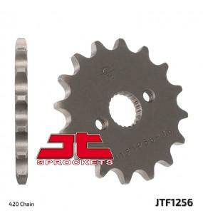 Pignon JT SPROCKETS 15 dents acier standard pas 420 type 1256