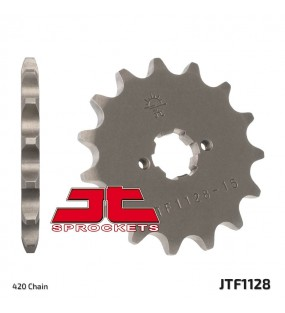 Pignon JT SPROCKETS 11 dents acier pas 420 type 1128 APRILIA / GILERA / DERBI