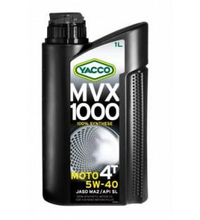 HUILE YACCO MVX 1000 4TEMPS 5W40 100% SYNTHESE BIDON DE 1L