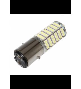 LAMPE 12V A LEDS 3W 300 LUMENS CULOT BA20D ECLAIRAGE BLANC BRILLANT