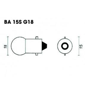 AMPOULE R5 12V 5W