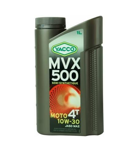 HUILE YACCO MVX 500 4TEMPS 10W30 BIDON DE 1L