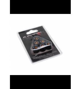 GALET SCOOT ARTEK K1 16X13 3,5g (x6) POUR PEUGEOT 50 / PIAGGIO 50 / KYMCO 50