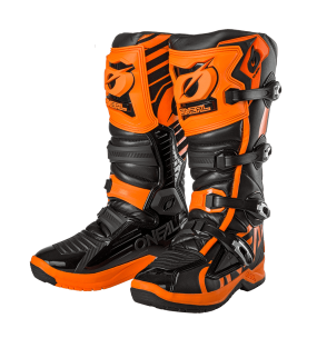 BOTTE MOTOCROSS ONEAL RMX ORANGE ET NOIR