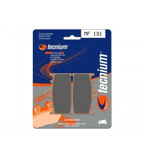 Plaquettes de frein TECNIUM MF131 métal fritté