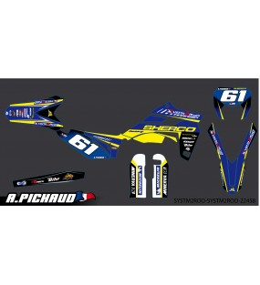 KIT DECO S2R 100% PERSO TYPE SHERCO