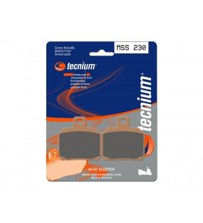 Plaquettes de frein TECNIUM MSS230 métal fritté
