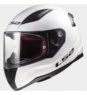 CASQUE LS2 FF353 RAPID SINGLE BLANC BRILLANT