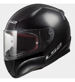CASQUE LS2 FF353 RAPID SINGLE NOIR BRILLANT