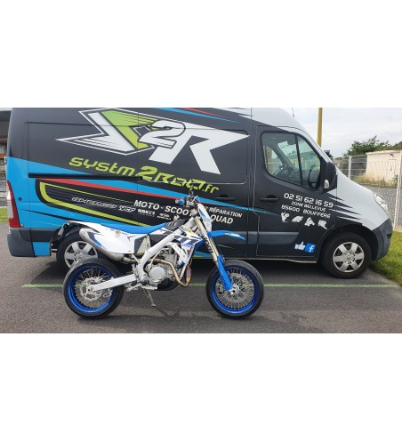 MOTO SUPERMOTARD TM RACING 530 SMR 2021 6 cv