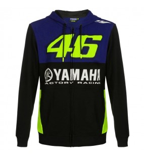 SWEAT ZIPPE YAMAHA RACING VRI46