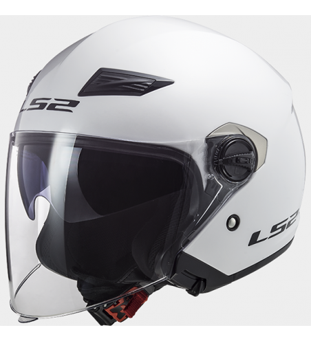 CASQUE JET LS2 OF569 TRACK GLOSS