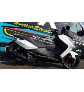SCOOTER SYM 125 GTS IES EURO4  blanc